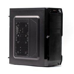 Sistem PC PRO322 Tower, Intel Core I3 3,3GHz, 8 GB RAM, 240 GB SSD, Black Case + tastatura & mouse