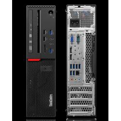 Sistem Desktop Lenovo ThinkCentre M700 SFF, Procesor i3 6100, Memorie RAM 4096, HDD 500 GB, DVDRW