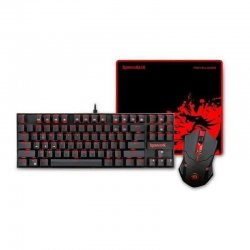 Kit tastatura mecanica si mouse Redragon Gaming Essentials 3-in-1 V2