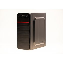 Sistem PC PRO240 Tower, Intel Core I5, 3.1 GHz, 4 GB RAM, 120 GB SSD, Black Case