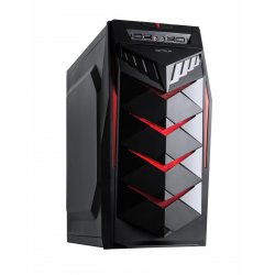 Sistem Pc PRO377 Gaming, Intel Core I7 3,4 GHz, 8GB RAM, 240GB SSD, placa video RX550, SUPERNOVA