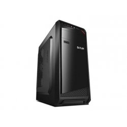 Sistem PC Lenovo PRO710 Tower, Intel Core I3 7100, 4 GB RAM, 1 TB HDD, DVD-RW, Black Case