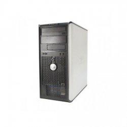 Sistem Tower C2D E8400 DELL 980, Memorie RAM: 2 GB ; Memorie stocare: 320 GB; Unitate optica: DVD-RW