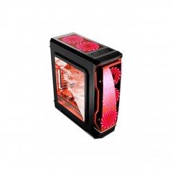 Carcasa Segotep Halo cu ventilatoare rosii