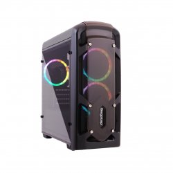 Carcasa Segotep Polar Light neagra RGB