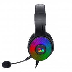 Casti gaming Redragon Pandora negre iluminare RGB