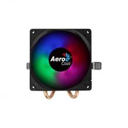Cooler procesor Aerocool Air Frost 2 negru iluminare RGB