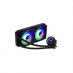Cooler procesor cu lichid Aerocool Mirage L240 negru iluminare aRGB