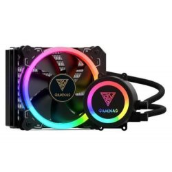 Cooler procesor cu lichid Gamdias Chione E1A 120R iluminare RGB