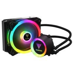 Cooler procesor cu lichid Gamdias Chione E2-120 Lite iluminare RGB