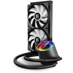 Cooler procesor cu lichid Gamer Storm Castle 240RGB V2 iluminare RGB