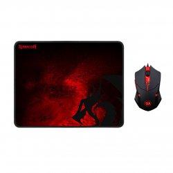 Kit mouse si mousepad gaming Redragon M601