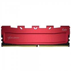 Memorie DIMM DDR4 Exceleram 16GB 3600Mhz (1x 16GB) Red Kudos cu radiator rosu