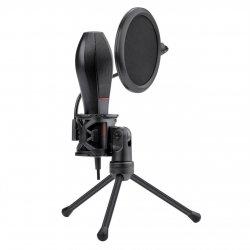 Microfon Redragon Quasar 2 negru cu stand