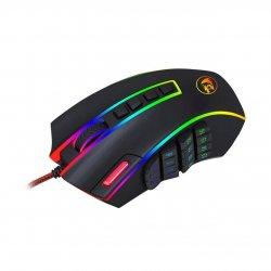 Mouse gaming Redragon Legend iluminare Chroma RGB negru