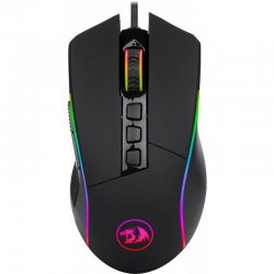 Mouse gaming Redragon Lonewolf 2 negru iluminare RGB