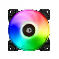 Set 3 ventilatoare ID-Cooling DF-12025 120mm iluminare aRGB