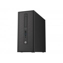 Sistem Tower, Procesor i3 6100, Memorie RAM 8192, HDD 128 SSD, DVD-RW, HP EliteDesk 800 G2 T