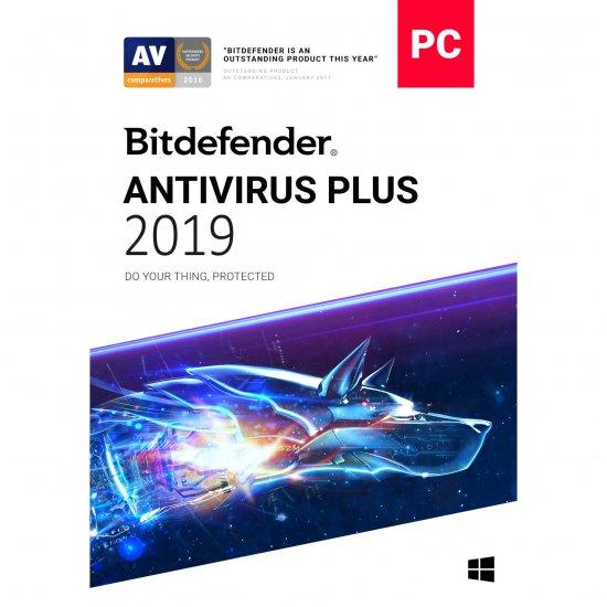 BITDEFENDER ANTIVIRUS Plus 2019 valabilitate 12 luni