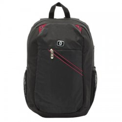 "Rucsac Laptop A+ Reno, 15,6"", Black/Red"