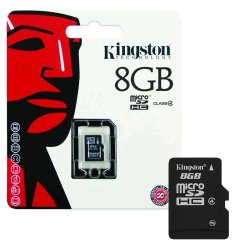 Card de memorie Micro SD 8 GB CLASS 4 KINGSTON