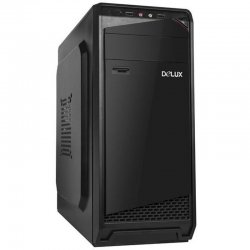 Sistem PC Tower Maxi710, Procesor Intel Core I3 7100, Memorie RAM 8GB, Capacitate stocare 120SSD, Black Case