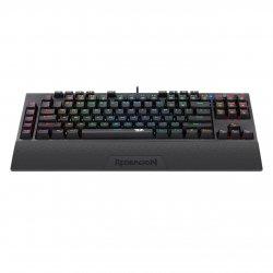 Tastatura gaming mecanica Redragon Broadsword neagra iluminare RGB