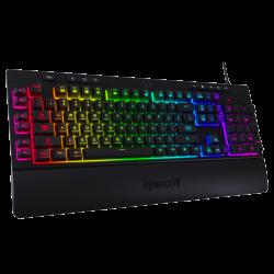 Tastatura gaming Redragon Shiva neagra iluminare RGB