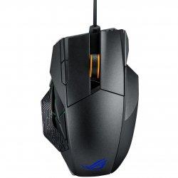 Mouse gaming wireless si cu fir ASUS ROG Spahta negru
