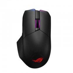 Mouse gaming wireless bluetooth si cu fir ASUS ROG Chakram negru