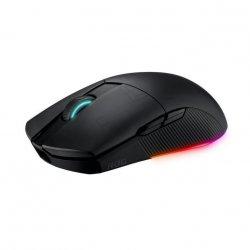 Mouse gaming wireless bluetooth si cu fir ASUS ROG Pugio II negru