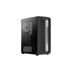 Carcasa Aerocool Prime aRGB neagra