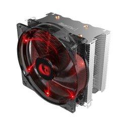 Cooler procesor Redragon Reaver iluminare rosie