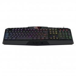 Tastatura gaming Redragon Harpe Pro neagra iluminare RGB