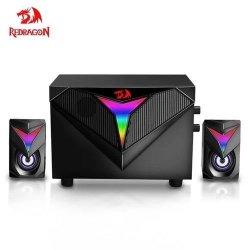Boxe 2.1 Redragon Toccata iluminare RGB negre