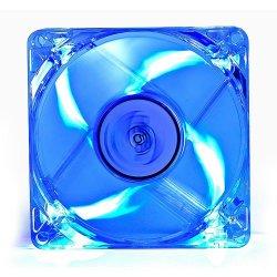 Ventilator Deepcool Xfan 80L/B Clear 80mm iluminare albastra