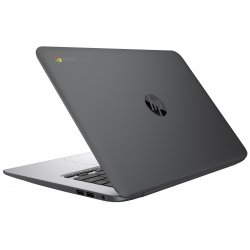 "LAPTOP Procesor INTEL N2840, Memorie RAM 4096, HDD 16 GB eMMC, WEBCAM, HP CHROMEBOOK 14"" G4, Sistem de operare: Chrome OS."