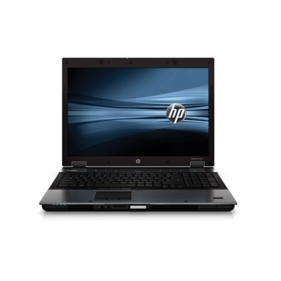 Laptop, Procesor i7 Q 720, Memorie RAM 16 GB, HDD 260 SSD, DVD-RW, HP EliteBook 8740w