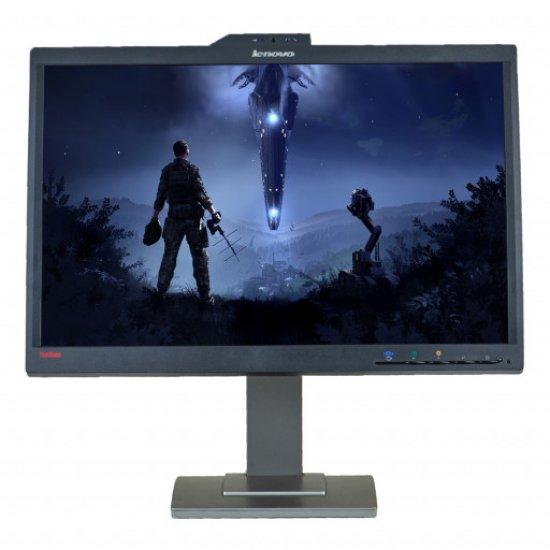 """Monitor LED, Diagonala 22"""", LENOVO L2251x cu Webcam, grad A"""
