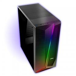 Sistem PC Gaming Maxi457, Intel® Core™ I5 4570, Memorie RAM 8GB, Stocare 240SSD, Placa video GeForce GT710, Supernova Red